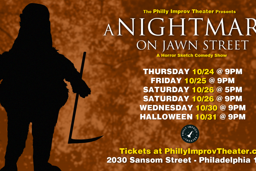 Announcing the Cast and Crew of A Nightmare on Jawn Street: A Horror Sketch Comedy Show!