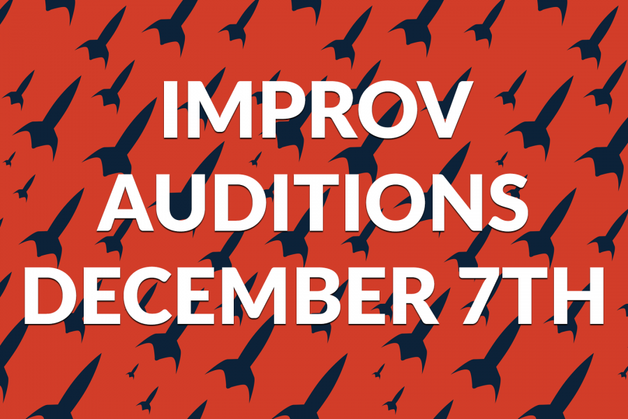 Multiple Improv Projects Auditioning December 7th!