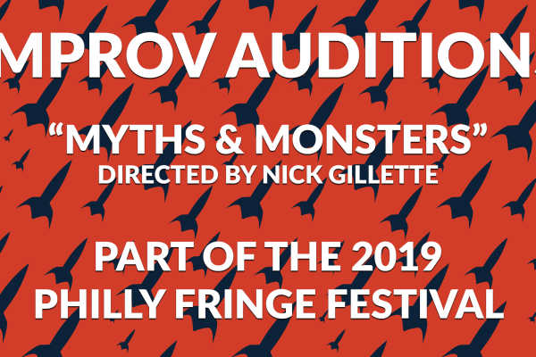 Announcing Auditions for the 2019 Philly Fringe Festival Production of Myths & Monsters at PHIT!