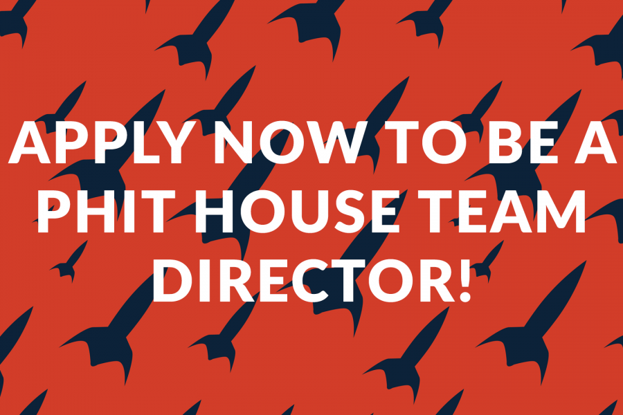 Apply Now To Be a PHIT House Team Director!